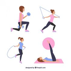 67 best fitness clipart logo images  fitness clip art