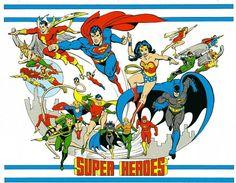 DC Comics Style Guide Jose Luis Garcia Lopez Super Heroes