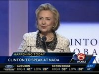 (via WDSU-LA): At the 2014 National Automobile Dealers Association Convention and Expo in New Orleans, LA, some auto dealers  are boycotting  the annual event due to an appearance by former Secretary of State Hillary Clinton...