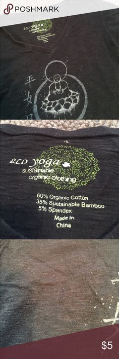 ☘️Eco Yoga Top☘️ Preloved long sleeve top with some piling as pictured. Eco Yoga Tops