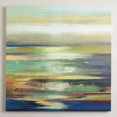 One of my favorite discoveries at WorldMarket.com: 'Blue Abstract' by Tom Reeves
