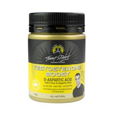 D-Aspartic Acid is a non-essential amino acid that helps to increase testosterone levels in both male/females, muscle mass and athletic performance, coupled with decreases in body fat and levels of fatigue.