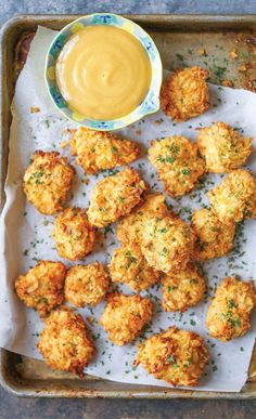 This baked popcorn chicken recipe is a healthier alternative to the deep-fried version with the best crispy potato chip