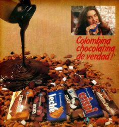 Chocolatinas Colombina 80's