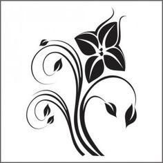 Adesivo de Parede Decorativo Flor Especial
