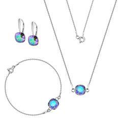 Komplet z kryształami Swarovski Swarovski, Pendant Necklace, Jewelry, Jewlery, Jewerly, Schmuck, Jewels, Jewelery, Drop Necklace