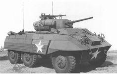 M-8 Greyhound armored car.
