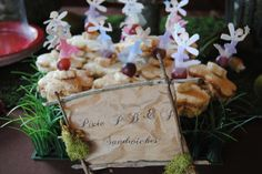 Adler's 6th Woodland Fairy Birthday Party | CatchMyParty.com