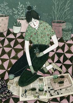 Green Thumb by Yelena Bryksenkova by ybryksenkova, via Flickr