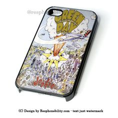 Green Day Dookie iPhone 4 4S 5 5S 5C 6 6 Plus , iPod 4 5 , Samsung Gal – Resphonebility