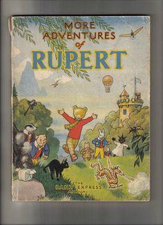 The Rupert Book, [1947]. Original Daily Express comic strip annual.
