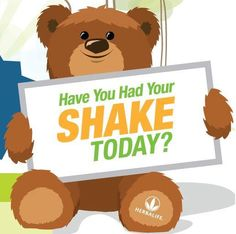 Herbalife: Have you Had your Shake Todday?
