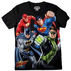 Camiseta de JLA  en todas las tallas