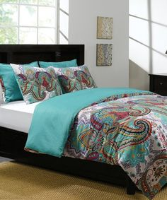 Love this Nalini Duvet Set on #zulily! #zulilyfinds