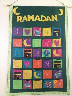 Ramadan calendar.