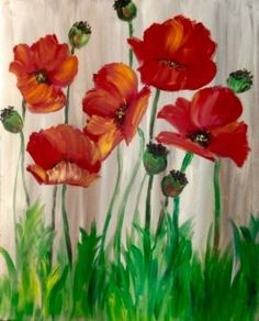 Wine and Canvas Wine and canvas Garden Fence Art, Garden Mural, Flower Mural, Flower Art, Flower Fence, Wine And Canvas, Paint And Sip, Paint Party, Pictures To Paint
