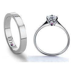Material: 925 Sterling Silver Ring Width:Male/4mm, Female/2mm  Ring Size…