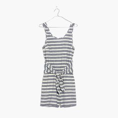 31cde7935b47 Madewell Womens Striped Cover-Up Romper (Size Bold Stripes
