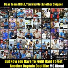 The True Story Of Indian Cricket Team Right Now! For more cricket fun click: http://ift.tt/2gY9BIZ #ThankYouDhoni - http://ift.tt/1ZZ3e4d