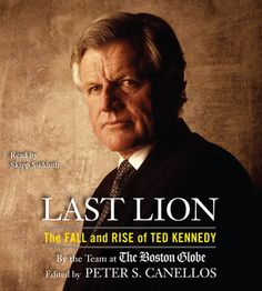 Ted Kennedy  I have this on audio book. Got it for a song at Amazon.