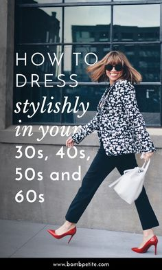 Ageless fashion: Petite style icons for your and Style at any . Classy Outfits For Women, Autumn Fashion Women Fall Outfits, Fall Fashion Trends, Clothes For Women, Fashion Ideas, Fashion Spring, Fashion Advice, 60 Fashion, Fashion For Women Over 40
