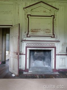 Drayton Hall – an old historic plantation in Charleston, SC.  Preserved, but not restored.