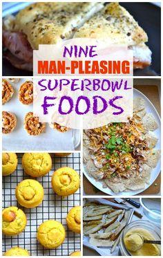 9 Man Pleasing Superbowl Foods by Rachel Schultz