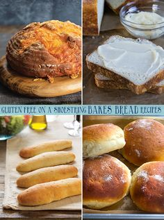GFOAS Bakes Bread Recipes - Gluten Free on a Shoestring