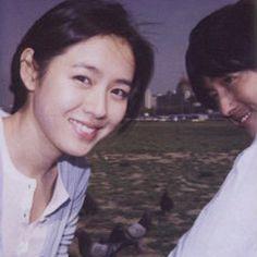 손예진 (Son Yejin), 정우성 (Jung Woosung) Aesthetic Japan, Aesthetic People, White Aesthetic, Aesthetic Photo, Korean Actresses, Actors & Actresses, Korean Picture, Foreign Celebrities, Jung Woo Sung