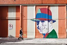 Carlos Gardel callejero. El Abasto. Buenos Aires