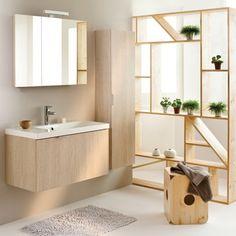 Une ambiance boisée avec la salle de bains Blog+