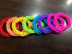 loom bands - Google Search Rainbow Loom Bands, Rubber Band Bracelet, Runes, Crochet Earrings, Orange Pink, Blue Yellow, Pink Purple, Jewellery Diy, Jewelry