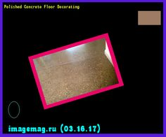 Polished Concrete Floor Decorating 182149 - The Best Image Search