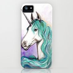Unicorn iPhone & iPod Case by Pendientera - $35.00