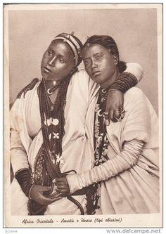 Africa Orientale , two women ,10-30s - Delcampe.com