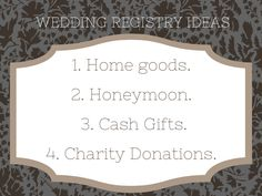 You're having a Wave Wedding! But there's soooo much to do and you still need to take a breath and create your wedding registry! If you're having trouble deciding what your registry should be, these 4 categories can help you on your way to wedded bliss! Surf more wedding and party tips on our Wave blogs at waveformevents.com!    #weddingtips #weddingregistry