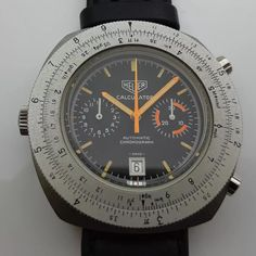 Big Watches, Cool Watches, Watches For Men, Tag Heuer, Chronograph, Elvis Presley, Clocks, Beautiful Things, Dads