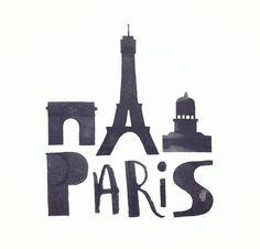 Paris - typo