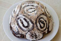 Swiss Swirl Ice Cream Cake