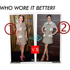 """Who Wore It Better?"" by nisaekaaa on Polyvore"