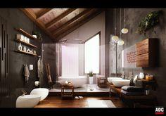 Villa Bonafe - Bathroom created by Deco.