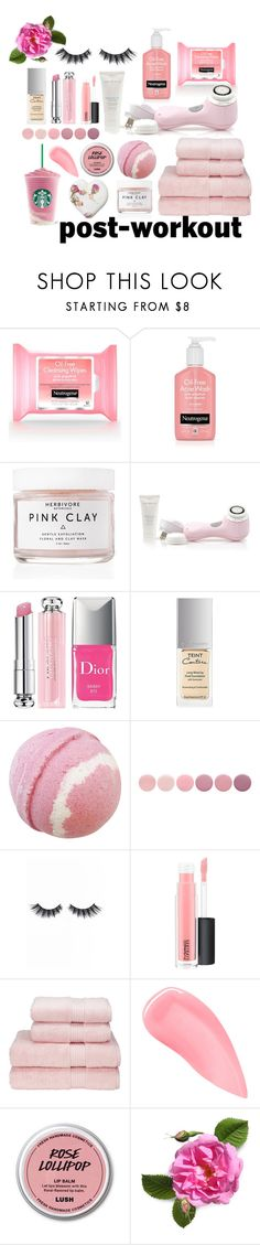 """""""Treat Yoself"""" by mcadamsa on Polyvore featuring beauty, Herbivore, Clarisonic, Christian Dior, Givenchy, Deborah Lippmann, Violet Voss, MAC Cosmetics and Kevyn Aucoin"""
