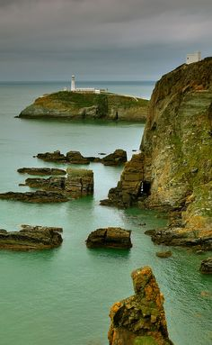 South Stack Light House, Anglesey, Wales