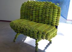 Ten Amazing Tennis Ball Furniture Designs | 1800Recycling.com