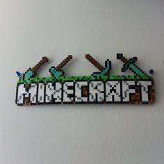 Minecraft perler beads by flyingblu123