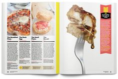 Portfólio: Chris Skiles Food Magazine Layout, Magazine Design, Design Editorial, Editorial Layout, Magazine Spreads, Kombucha, Fork, Layout Design, Beverage