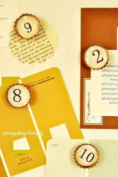 everyday lovely: Bottle Cap Magnets : A Tutorial