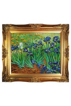 Vincent Van Gogh Irises, Oil Painting