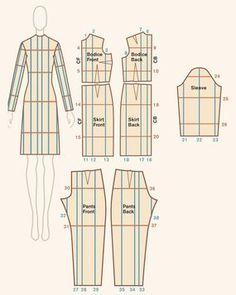 Chose promise, chosedue: voici enfin le tuto de la méthode facile de gradation que j'ai utilisée pour ma dernière robe .    IMPORTANT :  ...