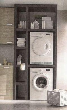 Armadio/Ripostiglio- Lavanderia | Ohne Kreativität und Inspirationen macht das Leben nur halbswegs interessant | Pinterest | Laundry, Washers and Dryers